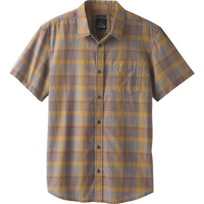 プラーナ Prana メンズ 半袖シャツ トップス Bryner Shirt - Standard Gravel