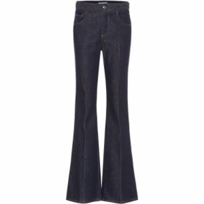 クロエ Chloe レディース ジーンズ・デニム ブーツカット ボトムス・パンツ High-Rise Bootcut Jeans Dark Night Blue
