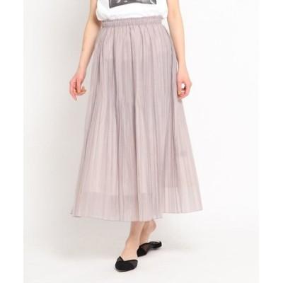 【洗える】リンクルワッシャープリーツスカート
