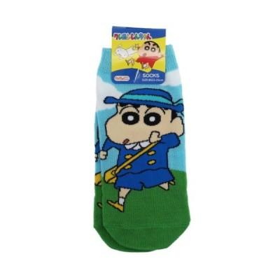 女性用 靴下 レディース ソックス クレヨンしんちゃん しゅっぱつ スモールプラネット キャラックス アニメキャラクター