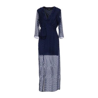 サローニ SALONI ロングワンピース&ドレス ダークブルー 8 レーヨン 80% / シルク 20% ロングワンピース&ドレス