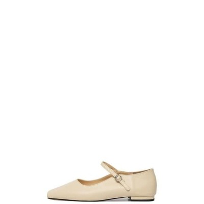somedayif レディース フラット Barbie Mary Jane Flat Shoes