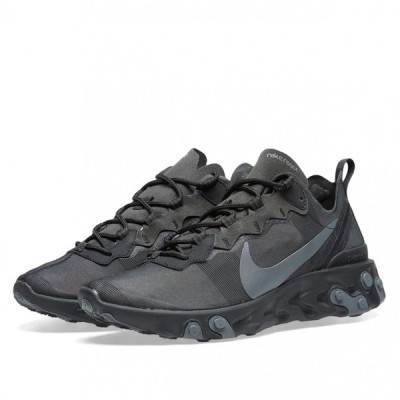 【SALE/32400円→19800円】ナイキ NIKE・Nike React Element55・スニーカー・Black/Gray