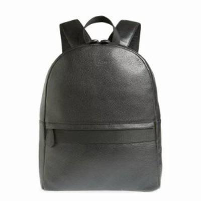 テッドベーカー バックパック・リュック Rickrak Leather Backpack Black
