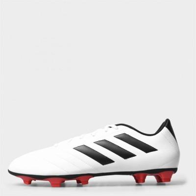 アディダス adidas メンズ サッカー ブーツ シューズ・靴 Goletto VII Football Boots Firm Ground White/Solar Red
