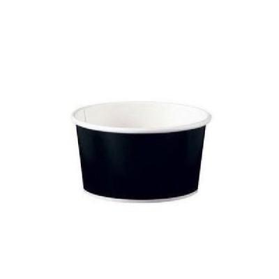 アイス&スープカップ8オンス(50個入) ブラック (品番:GUN0402)