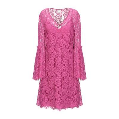 ピンコ PINKO ミニワンピース&ドレス フューシャ 40 コットン 98% / ナイロン 2% ミニワンピース&ドレス