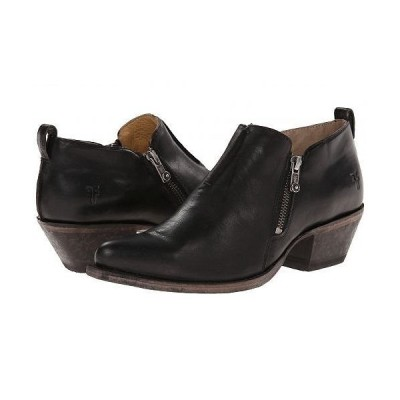 Frye フライ レディース 女性用 シューズ 靴 ブーツ アンクル ショートブーツ Sacha Moto Shootie - Black