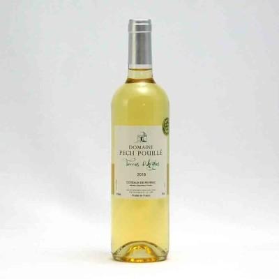 フランスワイン白「シャトー・ペッシュ・プイユ ブラン」 750ml 南仏 (夏クール瓶推奨)