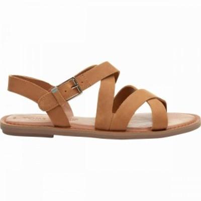 トムス Toms レディース サンダル・ミュール シューズ・靴 Sicily Sandal Tan Leather