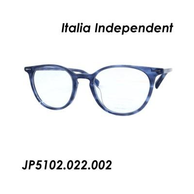 Italia Independent(イタリアインディペンデント) メガネ MARIA RITA JP5102.022.002 49mm [BLUE AND HORN]