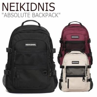 ネイキドニス リュック NEIKIDNIS ABSOLUTE BACKPACK アブソリュート バックパック BLACK BURGUNDY LIGHT BEIGE 037ASB02/06/762 バッグ