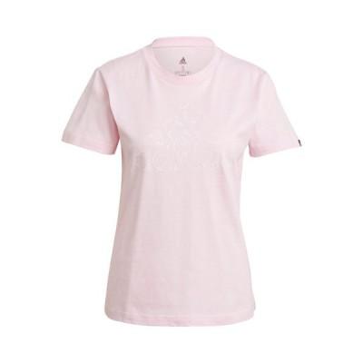 アディダス W MH BOS イラスト Tシャツ(28918-GL1033)[adidas LS レディースウエア]
