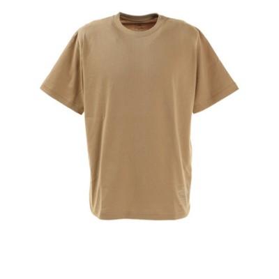 ノースフェイス(THE NORTH FACE)半袖Tシャツ ショートスリーブサイドロゴティー NT321002X KT シンプル ベージュ ワンポイント
