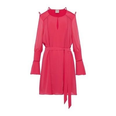 HAUTE HIPPIE ミニワンピース&ドレス フューシャ XS ポリエステル 100% ミニワンピース&ドレス