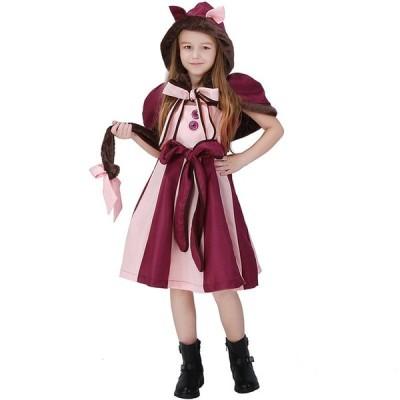 ハロウィン コスプレ衣装 子供 女の子 アリス 動物 猫 猫耳 KIDS キッズ 幼稚園ハロウィン衣装 キャラクター衣装 コスチューム