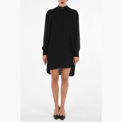 GIVENCHY/ジバンシィ ドレス Black レディース 秋冬2019 Silk Asymmetric Dress dk