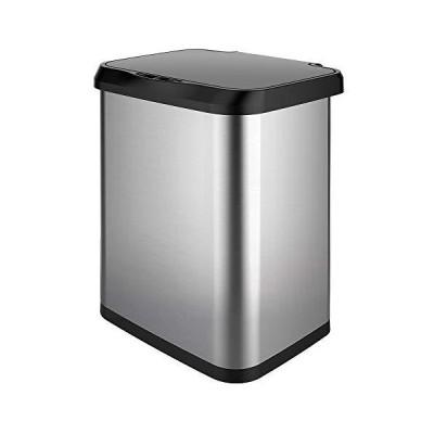 ステンレススチール製ステップゴミ箱 13 Gallon GLD-74515