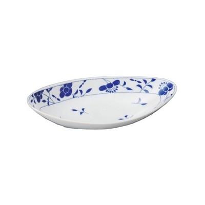 変形大皿 和食器 / 橘カレーベーカー 寸法:31.5 x 14.7 x 6cm
