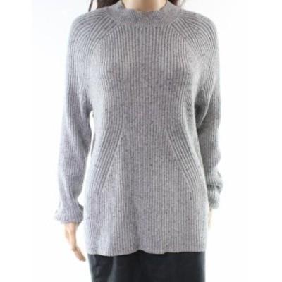 Michael Kors マイケルコルス ファッション トップス Michael Kors NEW Gray Womens Size Large L Turtleneck Mock Sweater