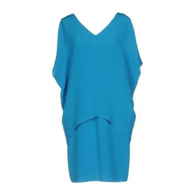 ジャンルカ・カパンノロ GIANLUCA CAPANNOLO ミニワンピース&ドレス アジュールブルー 42 シルク 100% ミニワンピース&ドレス
