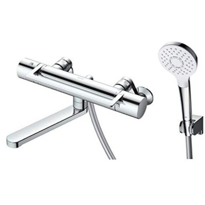 TOTO 浴室水栓 TBV03416Z, クローム アーチハンドル/170mm