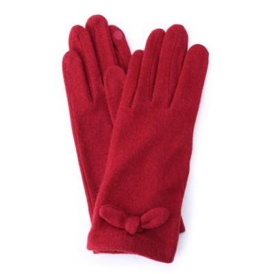 WORLD ONLINE STORE SELECT / スマホ対応リボン付きグローブ WOMEN ファッション雑貨 > 手袋