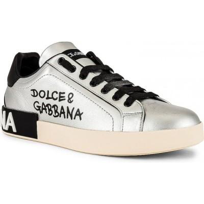ドルチェ&ガッバーナ Dolce & Gabbana メンズ スニーカー ローカット シューズ・靴 low top sneaker Dolce/Gabbana Silver