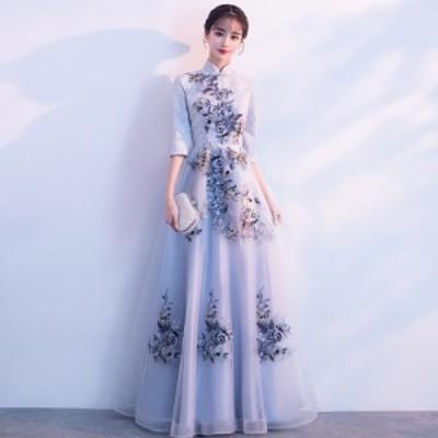結婚式 ドレス パーティー ロングドレス 二次会ドレス ウェディングドレス お呼ばれドレス 卒業パーティー 成人式 同窓会hs156