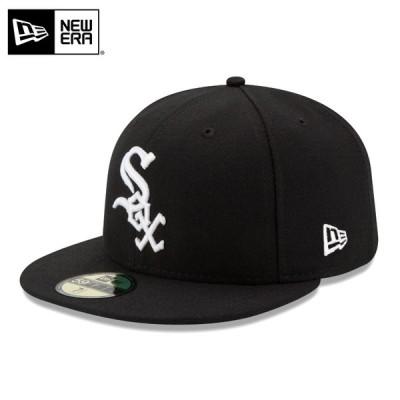 【メーカー取次】 NEW ERA ニューエラ 59FIFTY MLB On-Field シカゴ・ホワイトソックス ブラック 11449386 キャップ【クーポン対象外】【T】