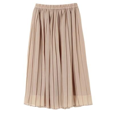 ・プリーツギャザースカート