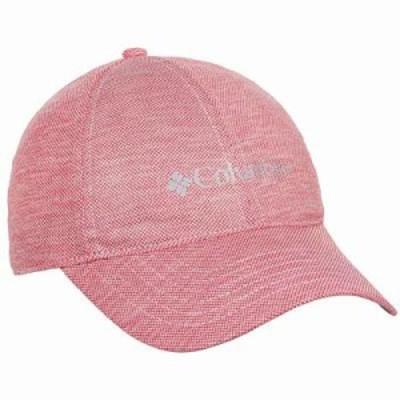 コロンビア キャップ PFG Solar Chill Baseball Cap - UPF 50 Red Camellia
