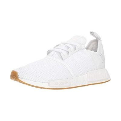adidas Originals mens Nmd_r1 Shoe, White/White/Gum, 8.5 US