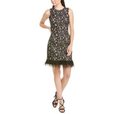 ドナリッコ レディース ワンピース トップス Donna Ricco Cocktail Dress black and nude