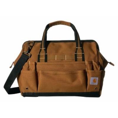 """カーハート メンズ バックパック・リュックサック バッグ Legacy 16"""" Tool Bag with Molded Base Carhartt/Brown"""