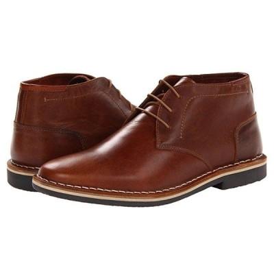 スティーブマッデン Harken メンズ ブーツ Cognac Leather