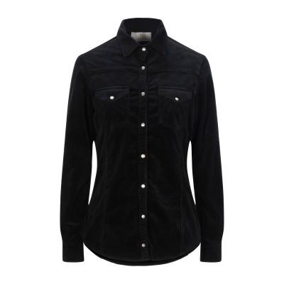KAOS JEANS シャツ ブラック S コットン 78% / レーヨン 20% / ポリウレタン 2% シャツ