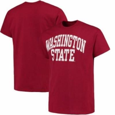 Fanatics Branded ファナティクス ブランド スポーツ用品  Washington State Cougars Crimson Basic Arch T-Shirt