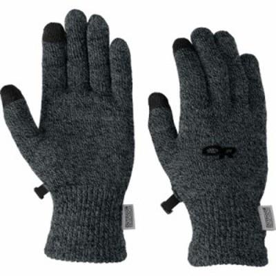 アウトドアリサーチ 手袋・グローブ BioSensor Glove Liner Charcoal