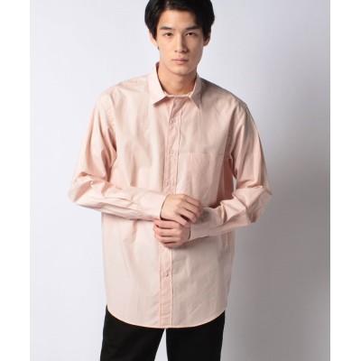 【アーバンリサーチ アウトレット】 高密度レギュラーカラーシャツ メンズ サーモンピンク S URBAN RESEARCH OUTLET