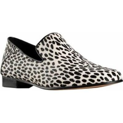 クラークス レディース スリッポン・ローファー シューズ Women's Clarks Pure Viola Loafer Black/White Interest Full Grain Leather