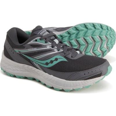 サッカニー Saucony レディース ランニング・ウォーキング シューズ・靴 cohesion tr13 trail running shoes Dark Grey/Mint