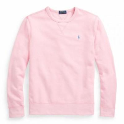 ラルフ ローレン Polo Ralph Lauren メンズ スウェット・トレーナー トップス Fleece Crew Sweatshirt Carmel Pink