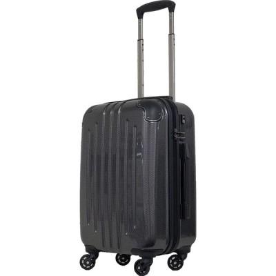 エー・エル・アイ スーツケース ハードキャリー 61L 3.8kg カーボンブラック