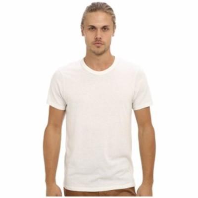 オルタナティヴ Alternative メンズ Tシャツ トップス S/S Crew Tee Eco Ivory