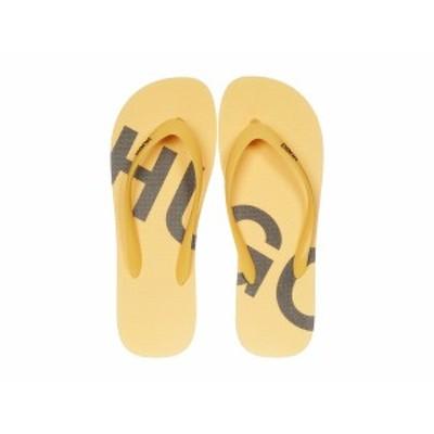 ヒューゴボス メンズ サンダル シューズ Onfire Flip-Flop by HUGO Open Yellow