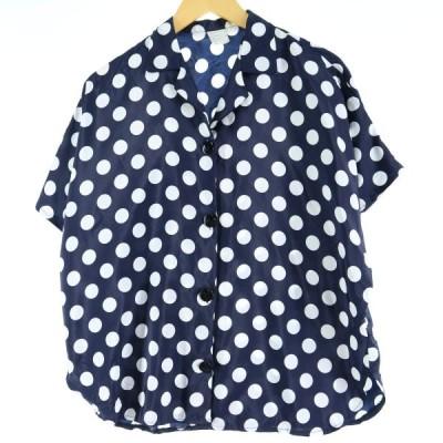 半袖 オープンカラーシャツ レディースXL /eaa037925