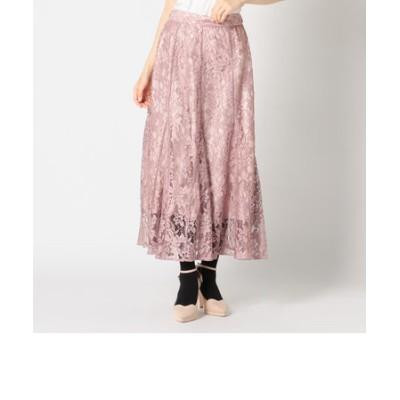 総ゴムレースマーメイドスカート