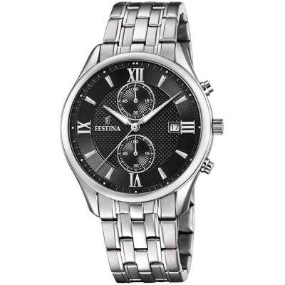 腕時計 フェスティナ フェスティーナ F6854/8 Festina Mens Chronograph Quartz Watch with Stainles