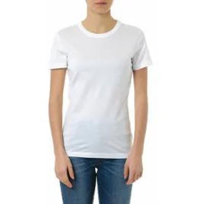 Maison Margiela レディースその他 Maison Margiela White Cotton Basic T Shirt White